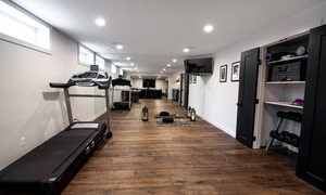 A home gym to keep your healthy lifestyle on track